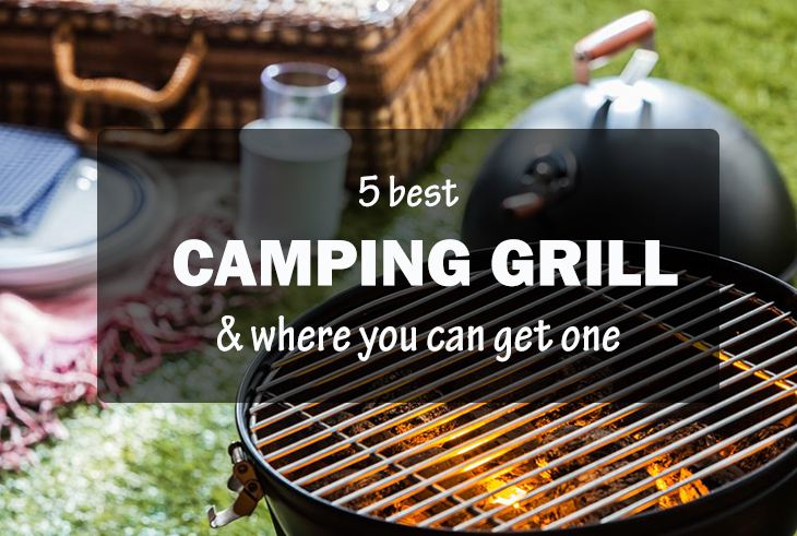 The 5 Of The Best Camping Grill 2016 – How To Select The Best One