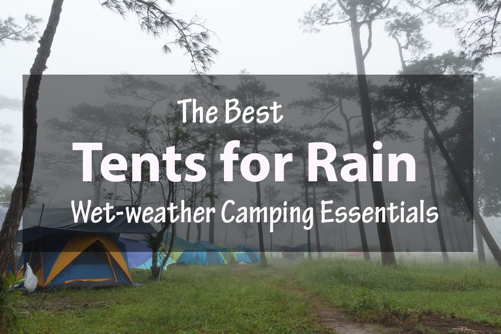 how to pack for camping in the rain