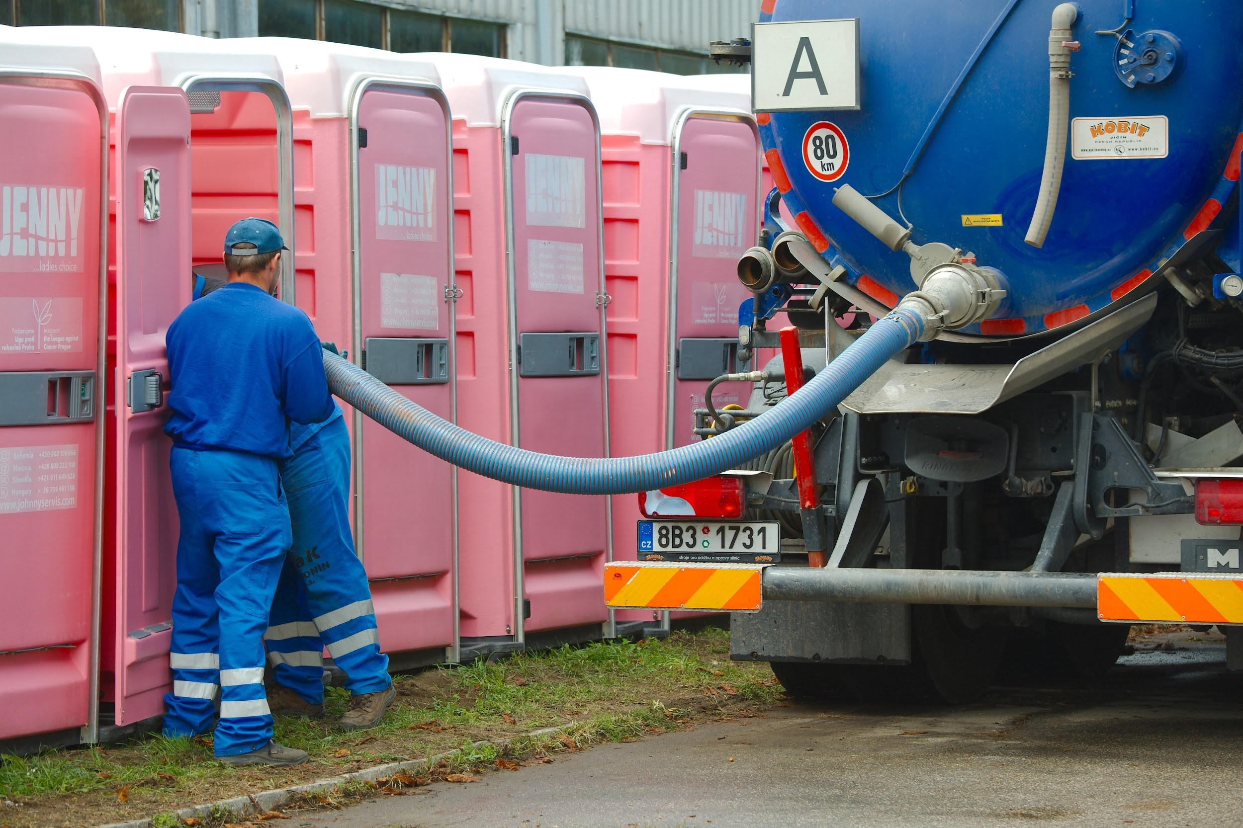 How To Empty A Portable Toilet?