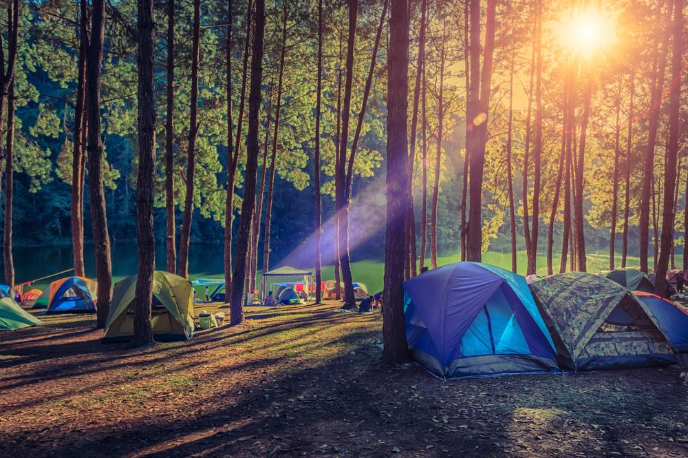 Low-cost camping in Ohio