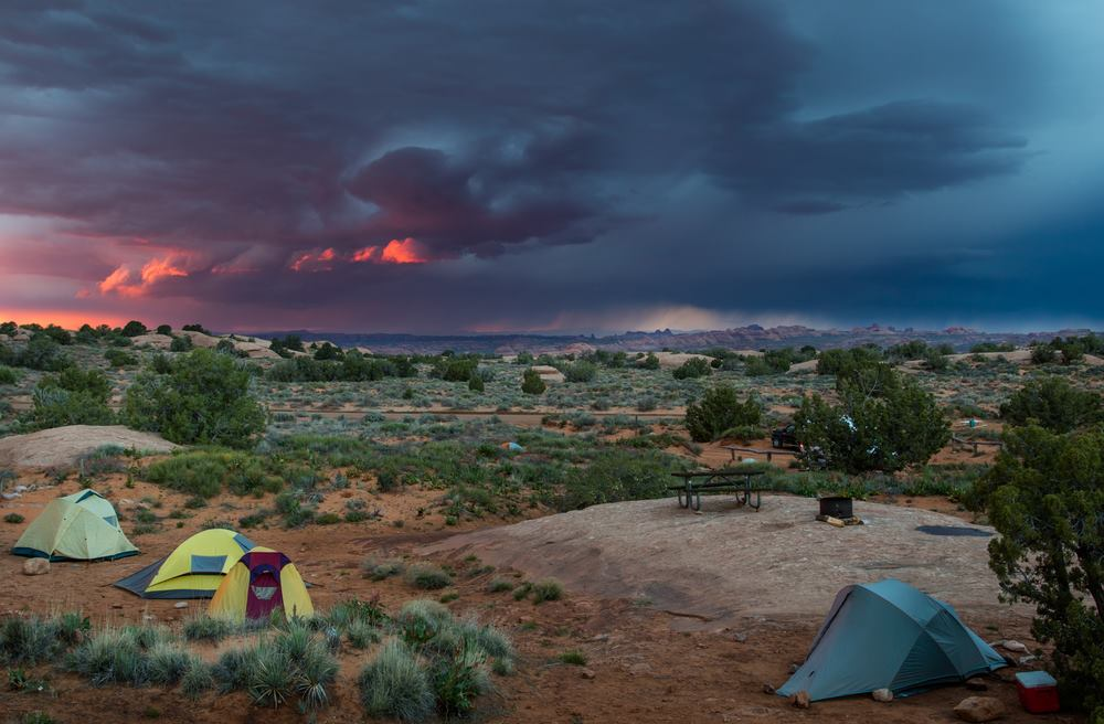 9 of the Best Camping in Utah