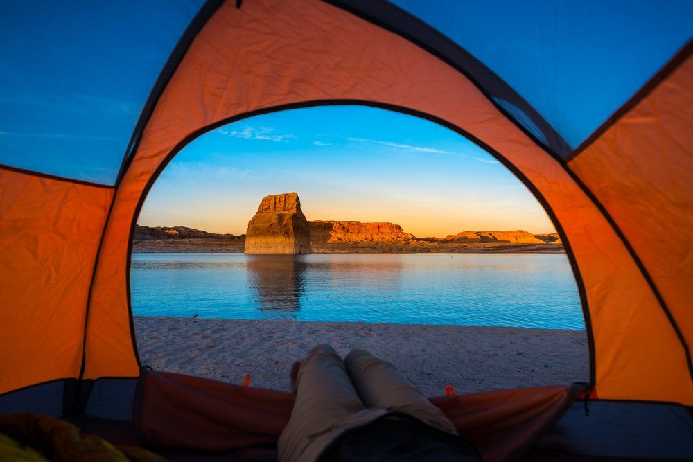 Lone Rock Beach, Lake Powell