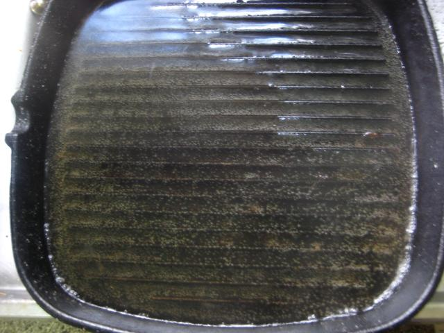 How to Clean a Grill Pan  via
