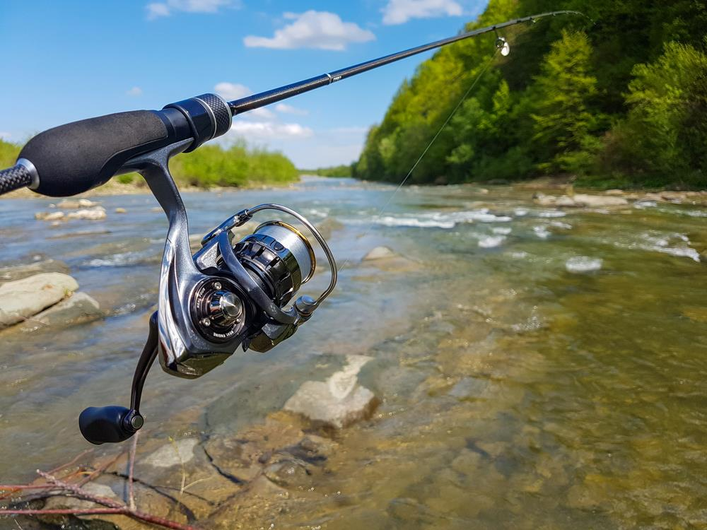 How to spool a spinning reel for an easier time fishing for Fishing line on reel